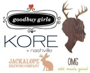 goodbuy girls, kore +nashville, Jackalope brewing company, OMG old made good